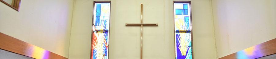 私たちの教会は、湘南ライフタウンの中にあるプロテスタント教会です。TEL: 0467-54-7740 〒253-0006神奈川県茅ケ崎市堤89-5